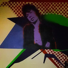 "Cell decoration. One of the former court house's ""visitors"" #jagger"