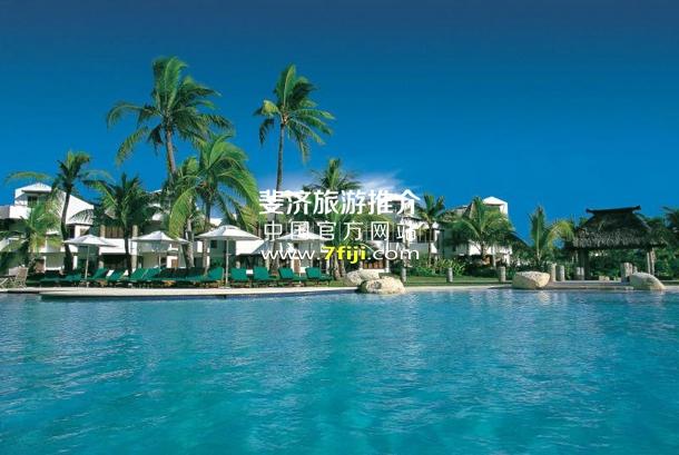 斐济丹娜拉岛喜来登别墅酒店(Sheraton Denarau Villas)游泳池