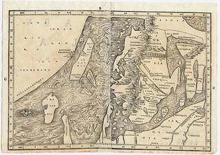 Jacob Zieglers nordenkart, 1532 eller 1536
