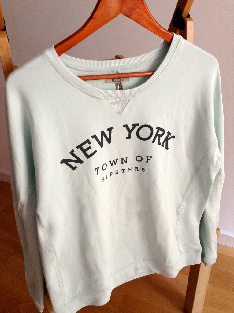 Zara 2014 Spring Summer Collection - New York Town of Hipsters Sweater