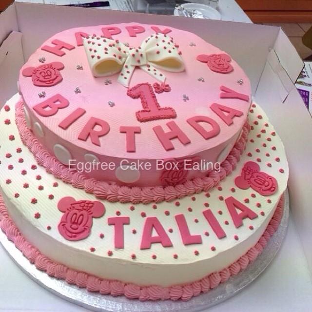 1st Birthday Cake #cake #cakebox #novelty #vegetarian #cakeboxealing #freshcream # & 1st Birthday Cake #cake #cakebox #novelty #vegetarian ... Aboutintivar.Com