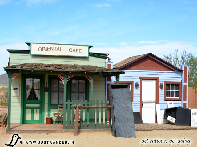 PIC: Oriental Cafe at Pioneer Living History Village
