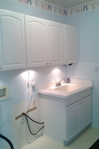 Laundry Room Drying Station