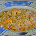 Arroz caldoso con langostinos / rice with prawns