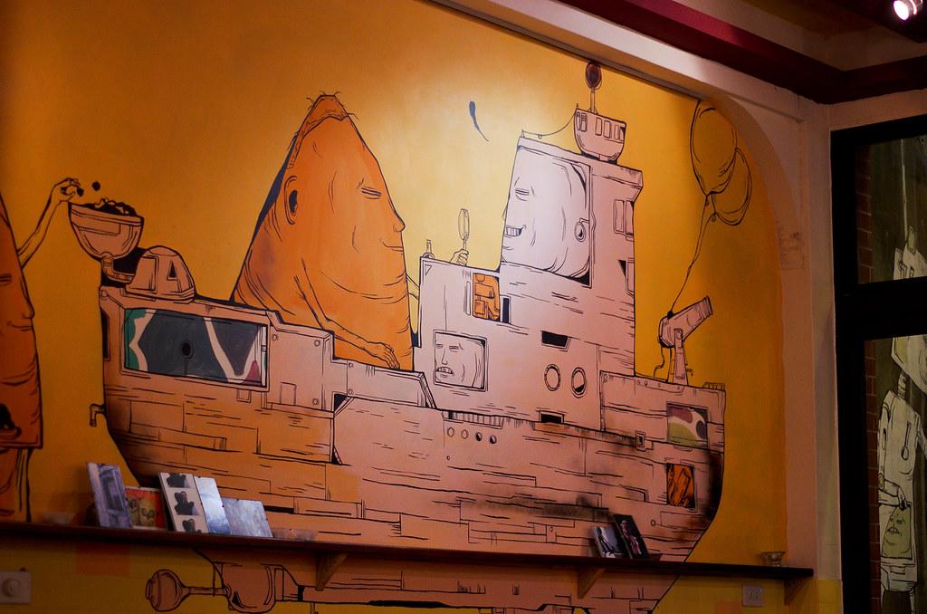 隱匿在小街中的異國風味-村落餐廳