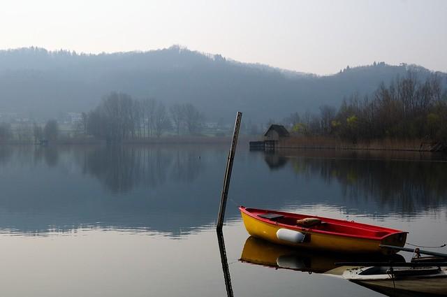 Il lago di Revine (Treviso)