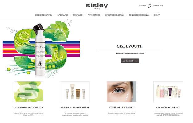 Sisley web