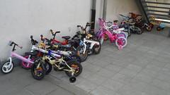 K1C op de fiets!
