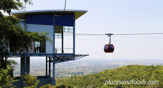 hatyai cable car scenery