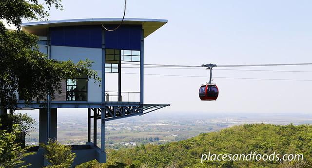 hatyai cable car scenery
