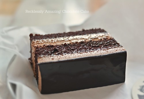 Oh chocolate cake! ~ Recklessly Chocolate Cake, BrewWell Coffee Bar
