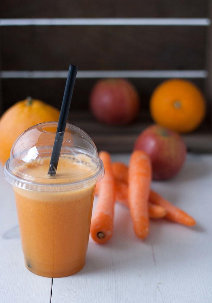 Gulerodsjuice med æble og appelsin (6)
