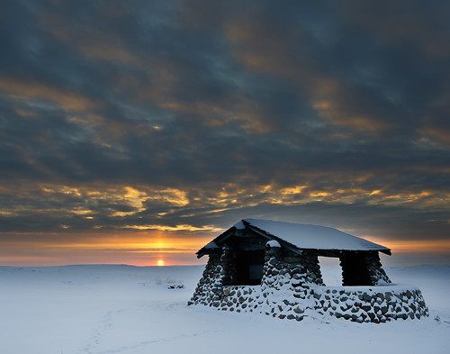 winter sunset snow clouds sunrise cloudy northdakota prairie doubleditch mandanindianvillage pwwinter