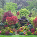 Spring garden in rain  May 1st by Four Seasons Garden