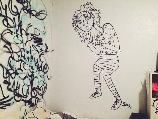 spontaneous mural