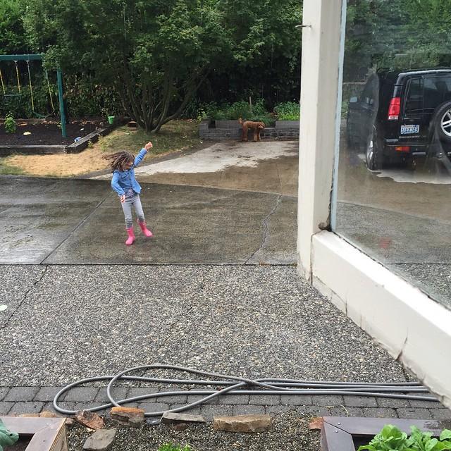 summer rain dance!