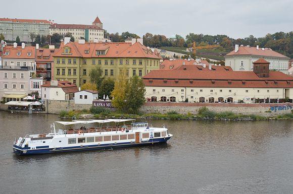 布拉格遊船01