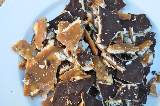 Salted Chocolate Caramel Crack