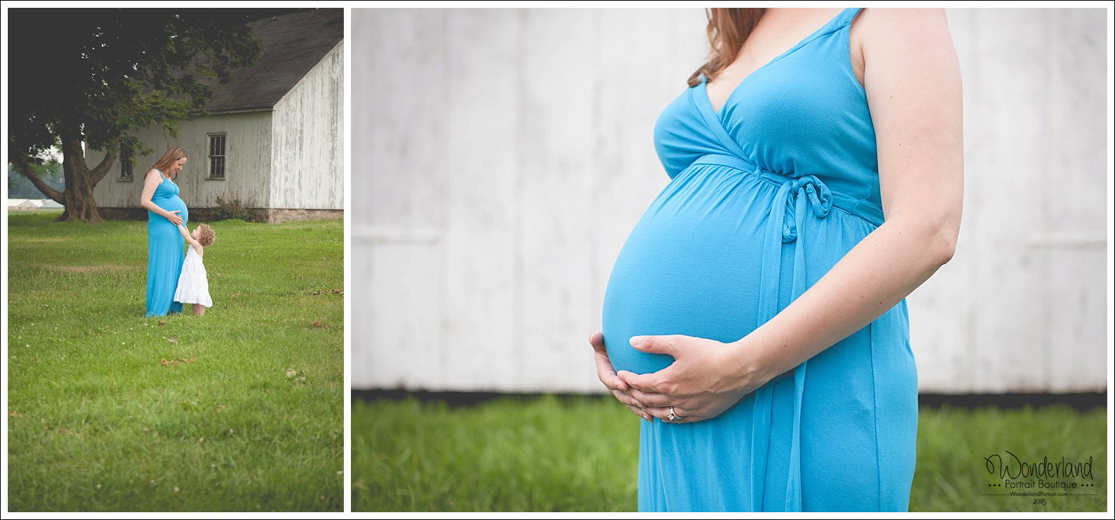 Farm Country Maternity ideas Yardley Bucks County PA Maternity and Newborn Photographer | WonderlandPortrait.com