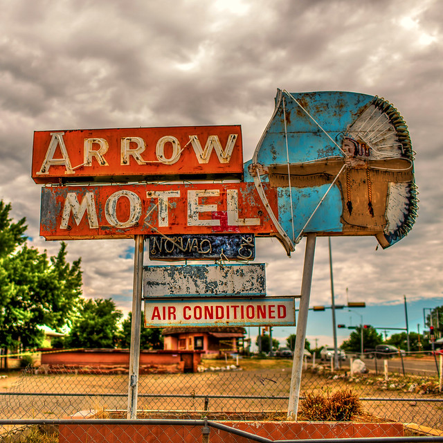 Arrow Motel - Española, New Mexico U.S.A. - July 28, 2015
