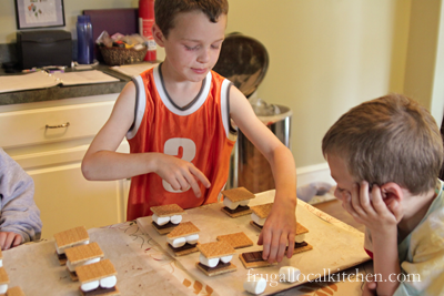 Cooking with Kids: S'Mores