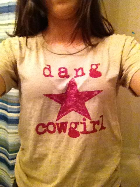 Dang Cowgirl Shirt