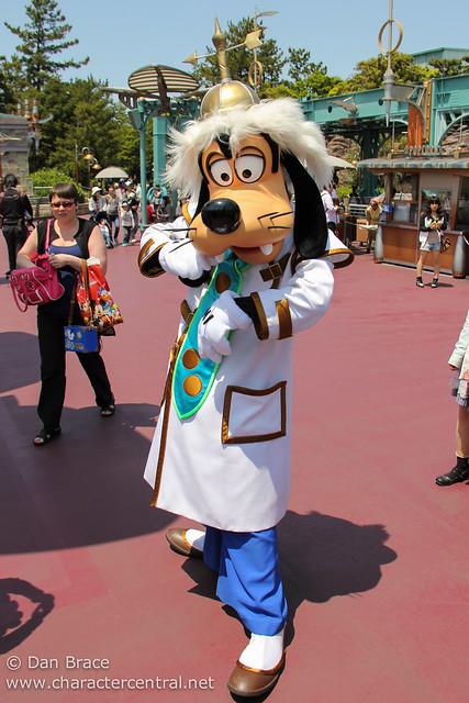 Scientist Goofy