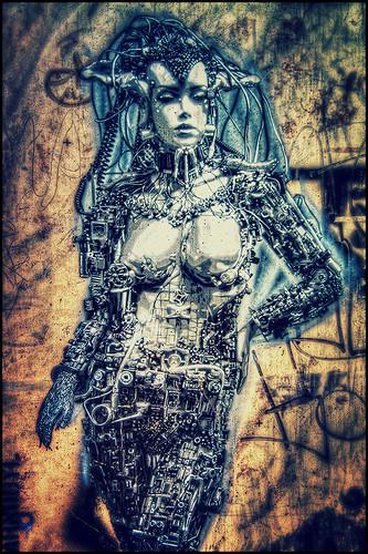 cyborg by andrè t.