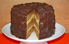 cake, buttercream, chocolate cake, ganache, baked goods, sachertorte, food, icing, chocolate,