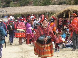 woman peru
