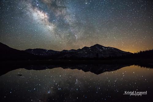 Milky Way over Kuna Crest, Yosemite