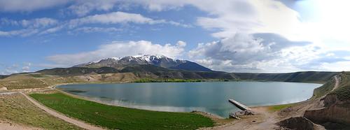 Aygır Gölü ve Süphan Dağı
