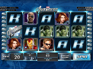 The Avengers slot game online review