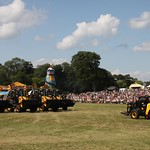 JCB Dancing Diggers     Holkham Hall Country Fair 28th July 2013