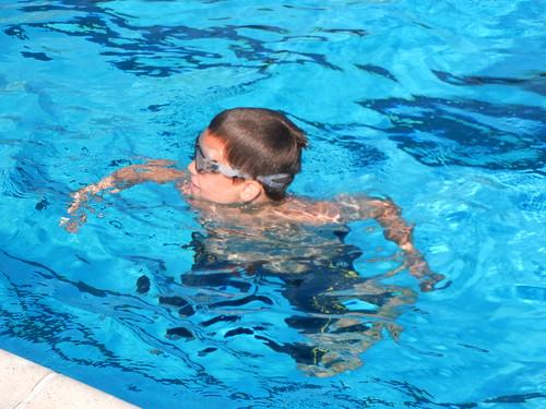 7-26-13 clark swimming