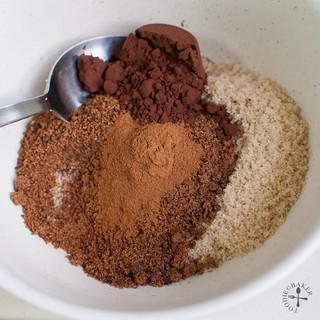 combine filling ingredients