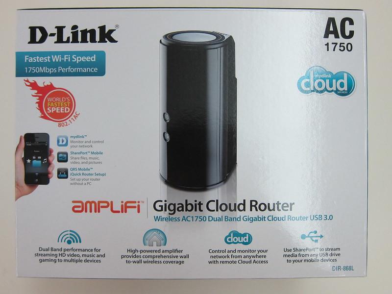D-Link DIR-868L - Box Front