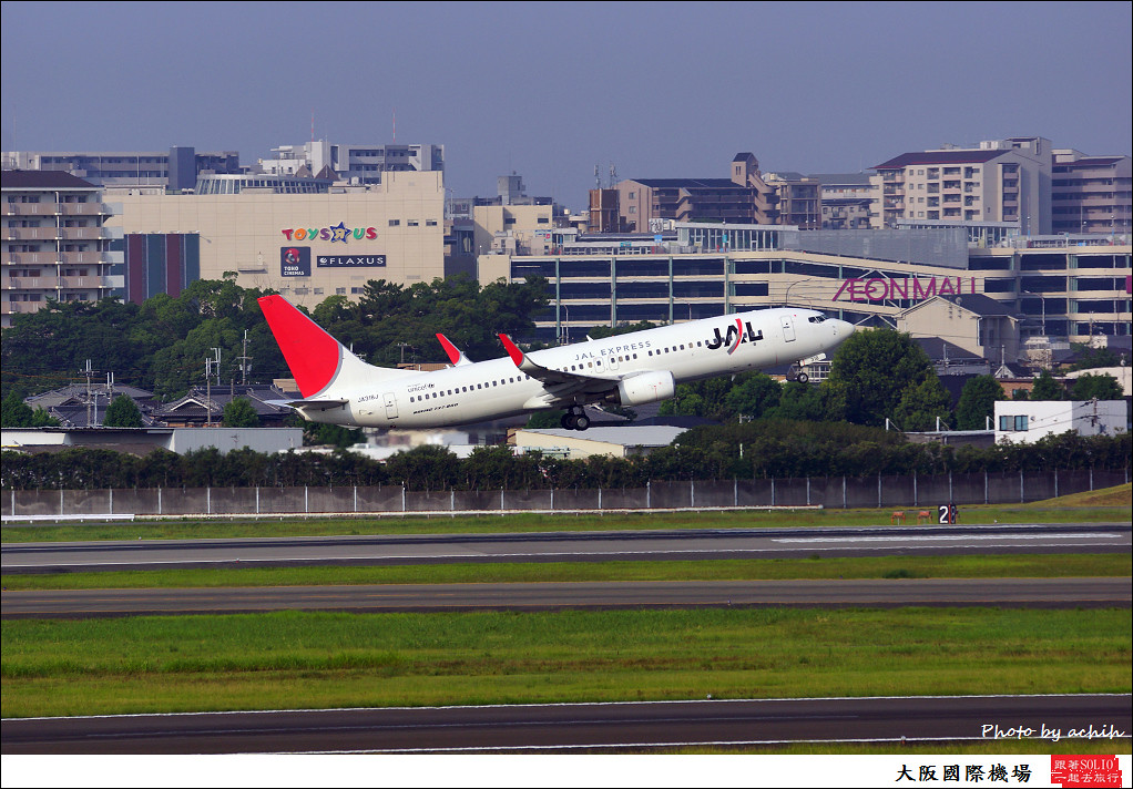 Japan Airlines - JAL JA318J