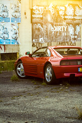 race car, automobile, vehicle, automotive design, ferrari 348, ferrari s.p.a., land vehicle, luxury vehicle, supercar, sports car,