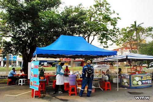 Teatime in Port Dickson