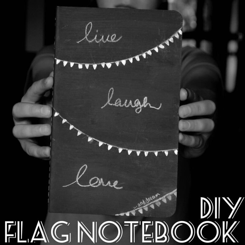 DIY Flag Notebook