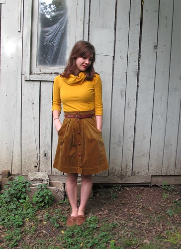 Corduroy Kelly Skirt