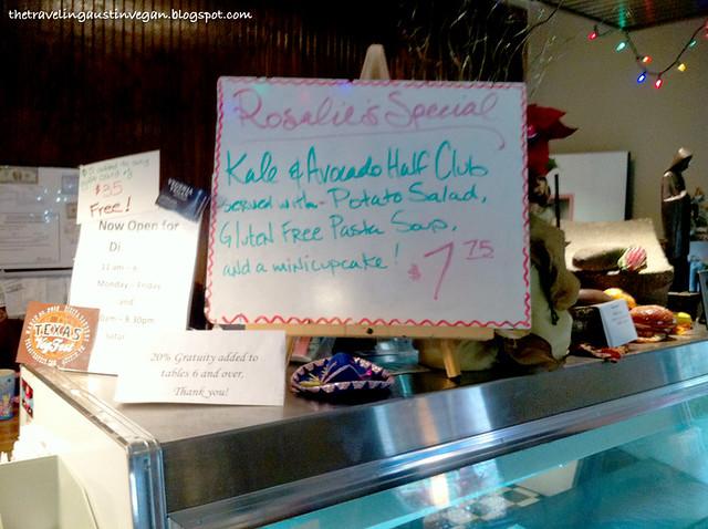 Special Sign - Vegeria - San Antonio, TX