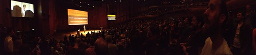 Sagmeister - got everyone singing, surprisingly good