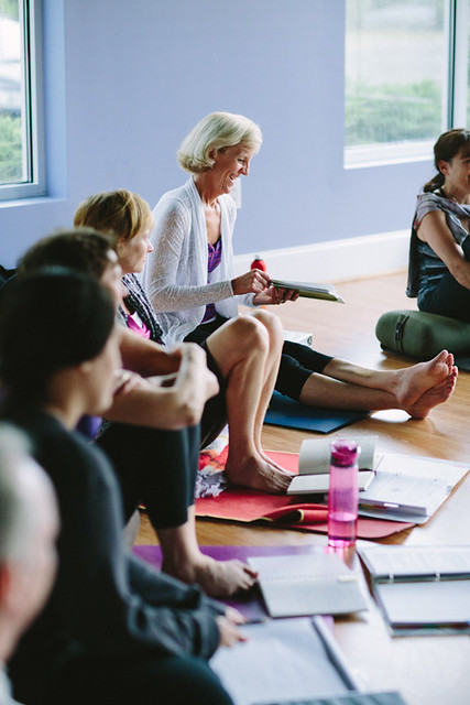 Yoga Teacher Training Students at InnerLight Yoga School in Cary, NC