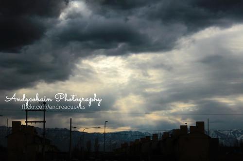 Un cielo Maipucino by Andrea Cuevas