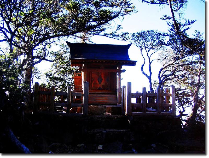 玉山西峰頂之山神廟