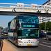 [Buses in Beijing]安凯 Ankai HFF6110GS01D 北京公交集团 BPT #76045 Line T12-O Front-right at Xinjiekou Huokou