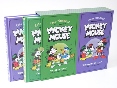 Walt Disney's Mickey Mouse Color Sundays Gift Box Set box photo