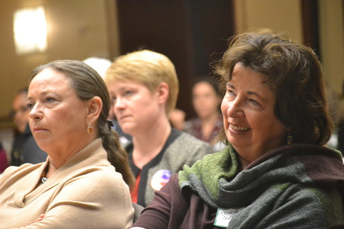 Deborah Burger, RN and RoseAnn DeMoro